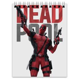 "Блокнот ""Дэдпул (Deadpool)"" - комиксы, deadpool, марвел, дэдпул"