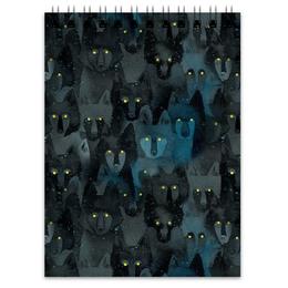 """Блокнот """"Стая волков"""" - волк, волки"""