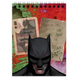 "Блокнот ""Бэтмен"" - комиксы, бэтмен, dc comics, dc, batman"