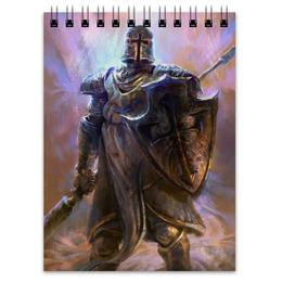"""Блокнот """"Крестоносец"""" - blizzard, диабло, близзард, diablo iii, crusader"""