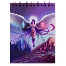 """Блокнот """" Ангел прошлого и будущего"""" - крылья, ангел, руны, будущее"""
