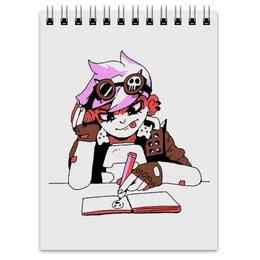 "Блокнот ""Спец-блокнотик для рисования"" - рисование, скетчбук, overwatch, tracer, highnoon"