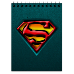 "Блокнот ""Супермен"" - арт, супермен, рисунок, иллюстрация, коммикс"