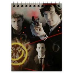 "Блокнот """"Sherlock"""" - джон, sherlock, шерлок"