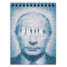 """Блокнот """"В.В.ПУТИН"""" - россия, путин, президент, знаменитость, политик"""