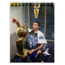 "Блокнот ""Stephen Curry"" - баскетбол, nba, нба, golden state warriors, стефен карри"