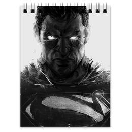 "Блокнот ""Супермен (Superman)"" - комиксы, супермэн, dc comics, супс"
