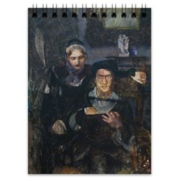 """Блокнот """"Гамлет и Офелия (картина Михаила Врубеля)"""" - картина, живопись, шекспир, литература, врубель"""