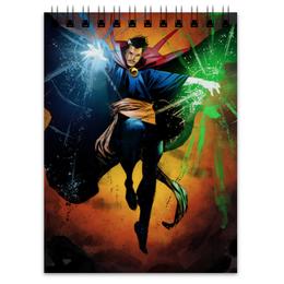 """Блокнот """"Доктор Стрэндж"""" - comics, комиксы, марвел, doctor strange, dr strange"""