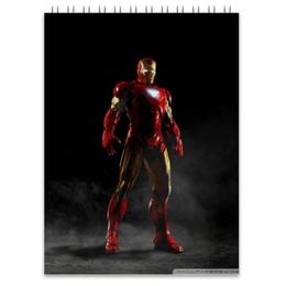 """Блокнот """"железный человек"""" - комиксы, marvel, железный человек, iron man, марвэл"""