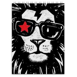 """Блокнот """"Животные"""" - мультфильмы, животные, арт, лев, дизайн"""