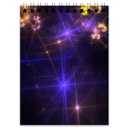 """Блокнот """"Световая фантазия"""" - абстракция, свет, фантазия"""