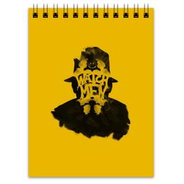 """Блокнот """"Роршах"""" - комиксы, rorschach, хранители, роршах, watchmen"""