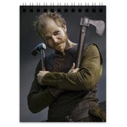 """Блокнот """"Флоки Кораблестроитель"""" - история, викинги, vikings, путь воина, флоки"""
