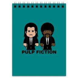 """Блокнот """"Pulp Fiction"""" - тарантино, криминальное чтиво, джон траволта, сэмюэл лерой джексон, культовое кино"""