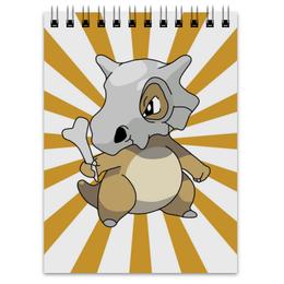 """Блокнот """"Кубон"""" - нинтендо, nintendo, pokemon go, покемон го, cubone"""