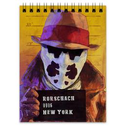 """Блокнот """"Роршах"""" - комиксы, хранители, watchmen, rorschach, dc comics"""