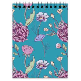 """Блокнот """"Цветочное настроение"""" - арт, цветы, цветочное настроение"""
