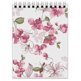 """Блокнот """"Сакура"""" - цветы, прикольные"""