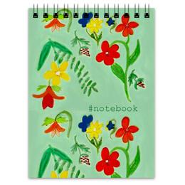 """Блокнот """"Блокнот Летние цветы"""" - цветы, природа, лето"""