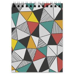 "Блокнот ""Абстракция"" - арт, стиль, рисунок, кубизм, модерн"