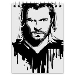 "Блокнот ""Тор  "" - комиксы, мстители, avengers, марвел, thor"