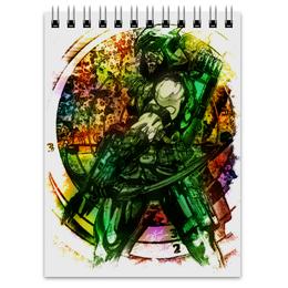 """Блокнот """"Pop Art"""" - арт, комиксы, dc, зеленая стрела"""