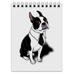 "Блокнот ""Frenchie"" - собака, french bulldog, французский бульдог"