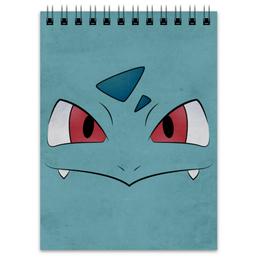 "Блокнот ""Ивизавр"" - нинтендо, бульбазавр, pokemon go, покемон го, ivysaur"