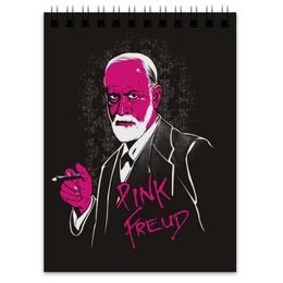 "Блокнот ""Pink Freud"" - freud, психологам"