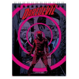 """Блокнот """"Сорвиголова (Daredevil)"""" - комиксы, марвел, дардевил, сорвиголова"""