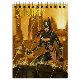 "Блокнот ""Batgirl"" - арт, рисунок, комиксы, бэтмен, бэтгерл"