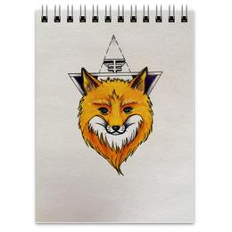 """Блокнот """"Лисичка"""" - природа, fox, лиса, животное, лисичка"""