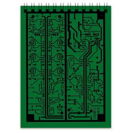 """Блокнот """"Электроника"""" - дизайн, техника, наука, электроника"""