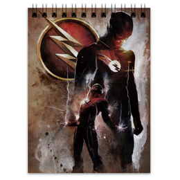 """Блокнот """"Флэш (Flash)"""" - flash, комиксы, dc comics, барри аллен, фле"""