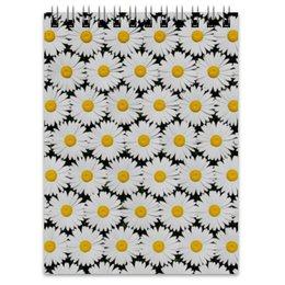 """Блокнот """"Ромашки"""" - цветы, цветок, ромашка, ромашки, цветочное поле"""