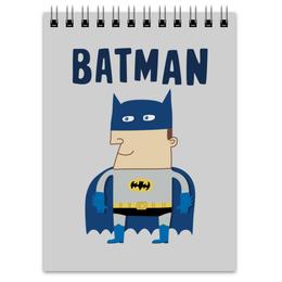 "Блокнот ""Бэтмен"" - прикольные, комиксы, batman, супергерои, бэтмен"