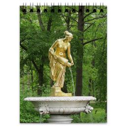 """Блокнот """"Нимфа"""" - россия, парк, скульптура, нимфа, петергоф"""