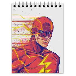 "Блокнот ""Флэш (Flash)"" - flash, комиксы, dc, dc comics, флэш"