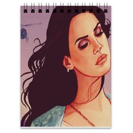 "Блокнот ""Lana Del Rey "" - lana del rey, лана дель рей, high by the beach"