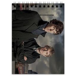 "Блокнот ""Шерлок и Джон"" - доктор, джон, шерлок, холмс, ватсон"