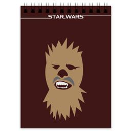 """Блокнот """"Чубакка (Chewbacca)"""" - звездные войны, чубакка, chewbacca, han solo, чюи"""