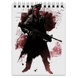 """Блокнот """"Красный колпак"""" - комиксы, бэтмен, red hood, batman, dc comics"""