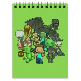 """Блокнот """"Майнкрафт"""" - игры, minecraft, майнкрафт, геймерские"""