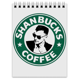 "Блокнот ""Shanbucks Coffee"" - 30 stm, шеннон лето, shanbucks, шеннон"