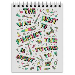 "Блокнот ""Future"" - надпись, текст, мотивация, future, будущее"