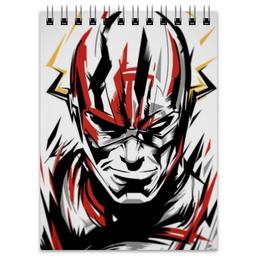 "Блокнот ""Флэш (Flash)"" - flash, комиксы, флеш, dc, dc comics"