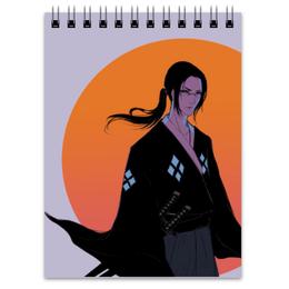 """Блокнот """"Самурай Чамплу"""" - аниме, самураи, самурай чамплу"""