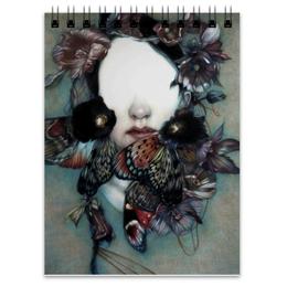 "Блокнот ""Танец бабочек."" - арт, бабочки, коллаж, butterflies"