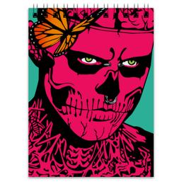 """Блокнот """"Zombie Boy"""" - зомби, тату, поп арт, zombie"""